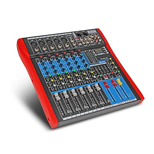 7 channel mixer - 8