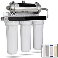 Osmosis Inversa Sistema De Filtración De Agua, 4 Etapa Purificador De Agua RO Equipo Filtro De Agua Potable GL12-04