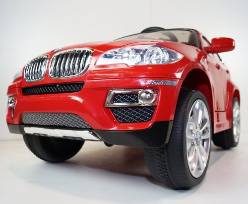 Licensed Bmw X 6 New Power Ride On Toy Electric Car With Mp3 Connection And Working Doors Remote Control 2 Motors 2battery 2 Speed