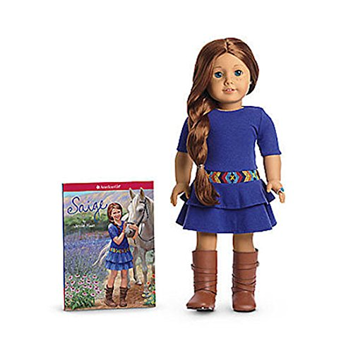 NEW IN BOX American Girl SAIGE 18