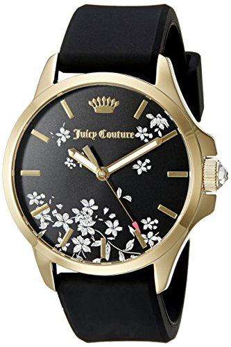 Juicy Couture Women's 1901344 Analog Display Quartz Black Watch ()