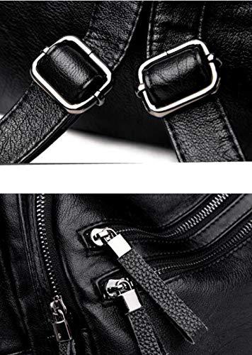 Coréenne Shopping Version à Unie Bandoulière Gray Sac Douce Jeune Cuir Décontracté PU Sauvage De Mère Couleur dr4xwqzRr