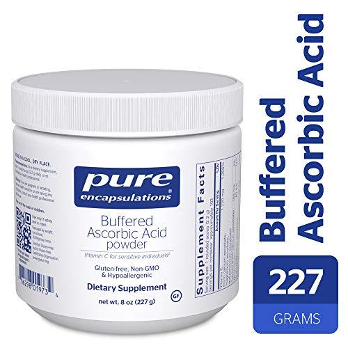 Pure Encapsulations - Buffered Ascorbic Acid Powder - Vitamin C Supplement for Sensitive Individuals - 227 Grams