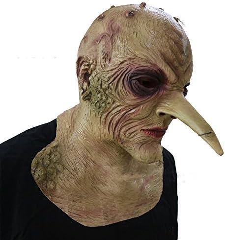 Prank Latex Tree Demon Mask Fancy Dress Cosplay Costume Stage Prop Halloween