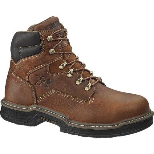 (Wolverine Men's W02421 Raider Boot, Brown, 9.5 M US)