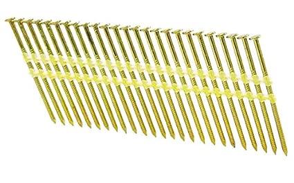 "3 1//2/"" x .131 SCREW A153-D HOT DIP STRIP NAILS 21 DEGREE 4M CASE"