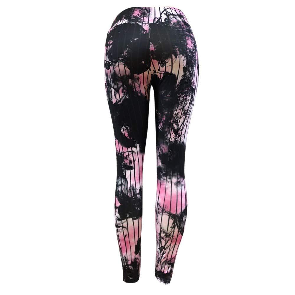 Amazon.com: NUWFOR Womens Fashion Workout Leggings Fitness ...