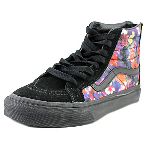 Vans Unisex Sk8-Hi Slim Zip Sneaker-Galaxy Floral/Black-6.5-Women/5-Men