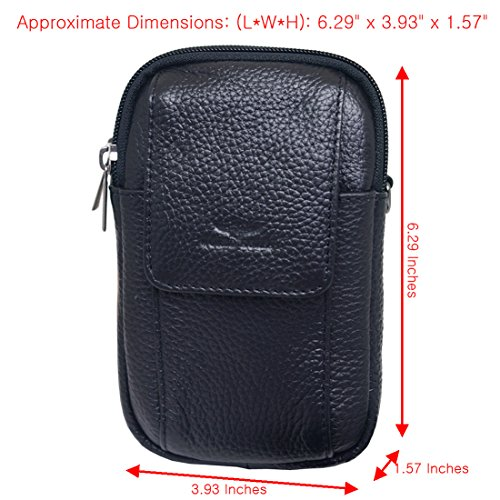 4430d408a33 Small Bag Waist Pack Messenger Bags Tactical Cellphone Phone Pouch Leather  Travel Bags Cases Holsters Saddlebag