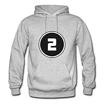 Women Hoody Casual ## 2 ## Print X-large With Organic Cotton Grey