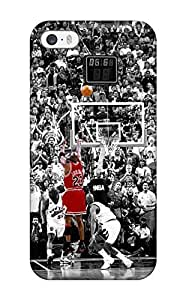 New Shockproof Protection Case For Iphone 5C Cover Sports Nba Basketball Michael Jordan Selective Coloring Chicago Bulls Case Cover
