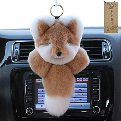 Genda 2Archer Super Cute Rabbit Fur Fox Bag Charm Ornamen...