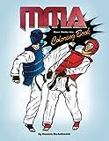 MMA Coloring Book; Mixed Martial Arts Coloring Book