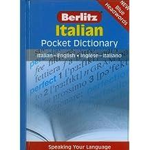 Italian Pocket Dictionary: Italian-English/Inglese-Italiano (Berlitz Pocket Dictionary) (English and Italian Edition) 1st (first) by Berlitz (2007) Paperback