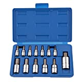 Neiko 10074A Metric Allen Hex Bit Socket Set Cr-V 13-Piece