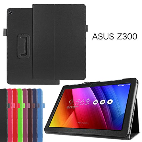 Asus ZenPad 10 Z300C Case,Mama Mouth PU Leather Folio 2-folding Stand Cover for 10.1