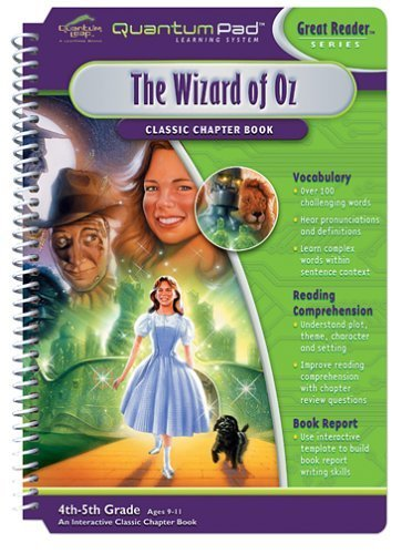 Quantum Pad Learning System: The Wizard of Oz Interactive Book and Cartridge by None