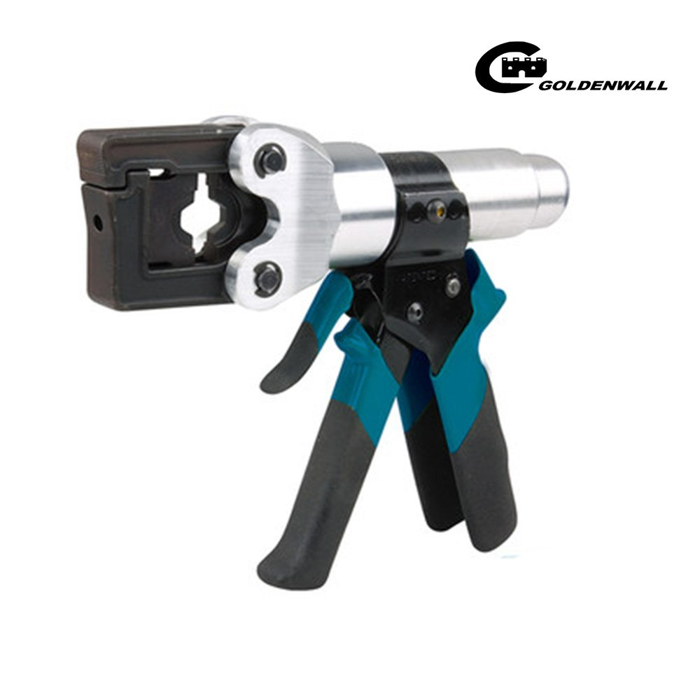 CGOLDENWALL  4~150mm²ハイドロプライヤー 油圧圧着工具 ダイス12種付 【一年安心保証】 B07C1Z114Y