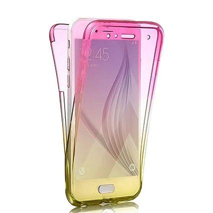 Amazon.com: PHEZEN Galaxy S9 Plus Funda, [Full Body 360 ...