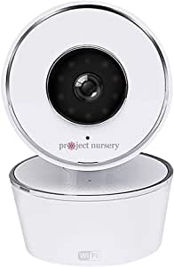 Project Nursery 720p WiFi Pan/Tilt and Zoom Camera, White