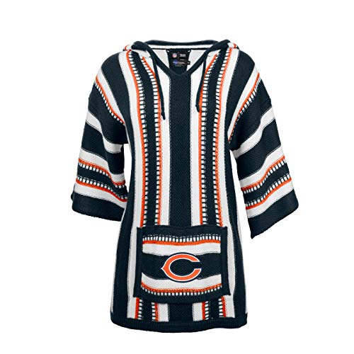 NFL Chicago Bears Baja Hoodie, Large/XL