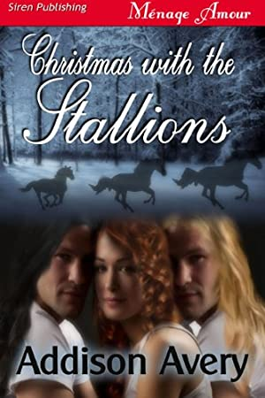 book cover of Christmas with the Stallions