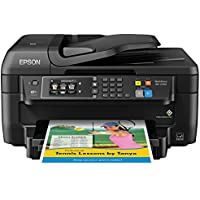 Epson WF-2760 All-in-One Wireless Color Printer with Scanner, Copier, Fax, Ethernet, Wi-Fi Direct & NFC