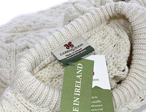 Jersey de lana de merino Aran–baínín Bainin