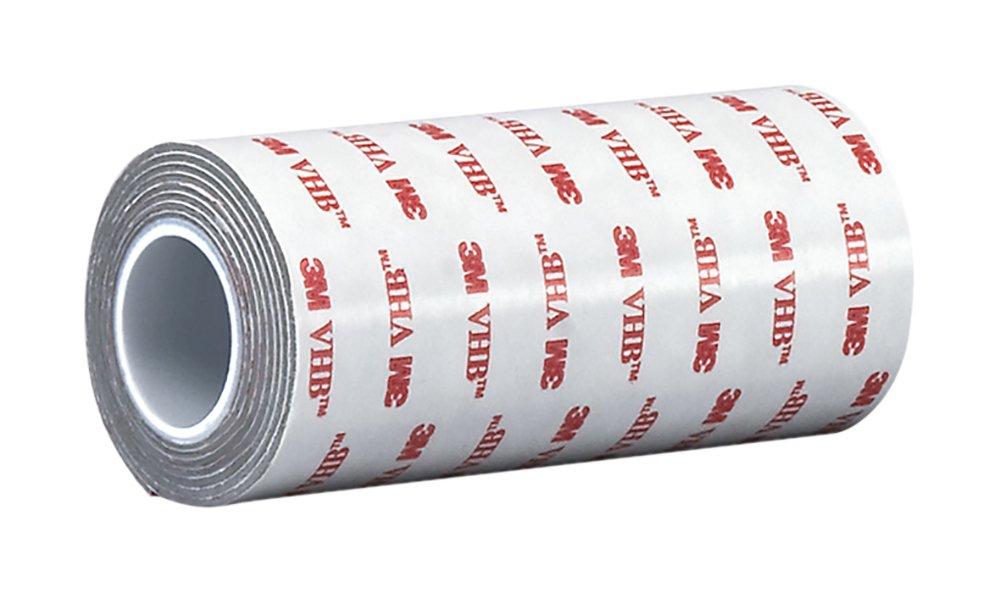3M VHB Tape RP62 8 in width x 5 yd length, 1 roll