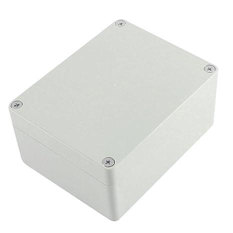 Caja de conexiones - TOOGOO(R) Caja de proyecto electronico de armario impermeable de