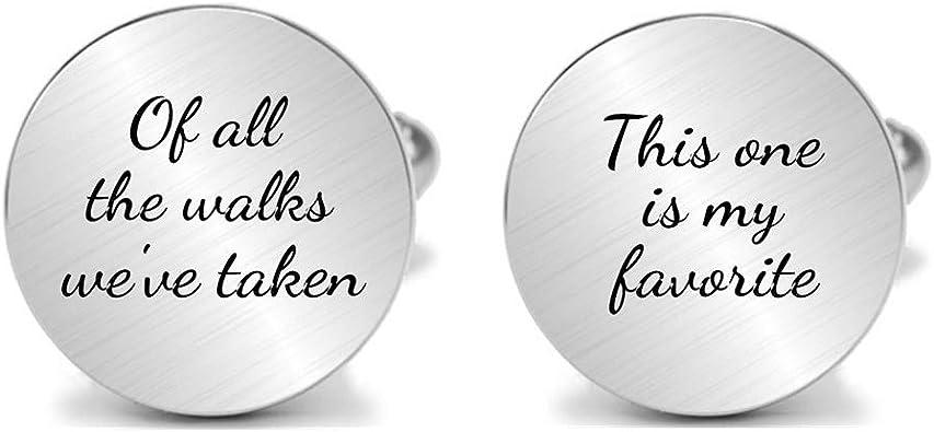 Personalized Cufflinks Wedding Cufflinks Engraved Cufflinks Custom Cufflinks Father Of The Bride Cufflinks Father Of The Groom