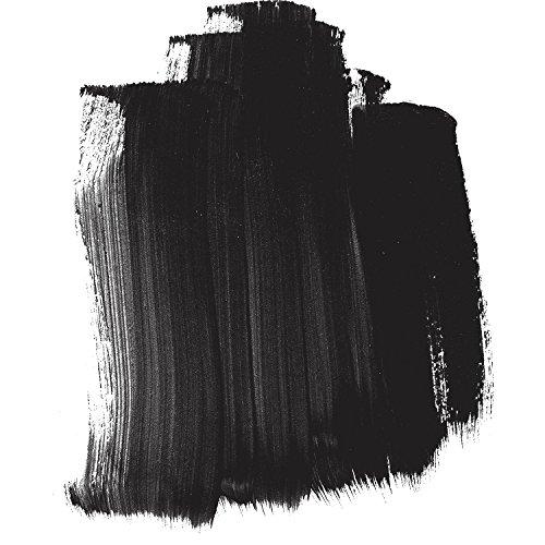 4oz. High Flow Acrylic Paint Color: Carbon - Carbon Colors