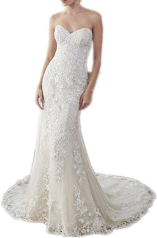 Organza Sheath High order Purchase Lace Wedding Dresses Bride Gown