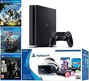 2019 Playstation 4 Slim PS4 1TB Console + Playstation VR Headset + Playstation Camera + Playstation VR Move Co
