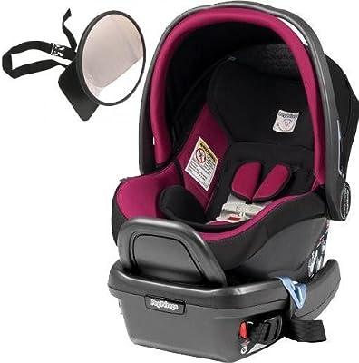 Peg Perego - Primo Viaggio 4-35 Car Seat w Back Seat Mirror - Fleur