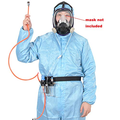 Supplied Air System For Spraying Respirator Gas Mask----Mask Not Included, Fit Bayonet Connection Mask, Smooth Breathing by Chudeng (Image #1)