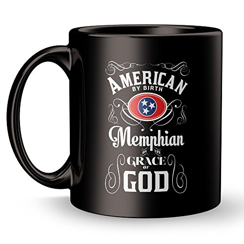 Memphis TN Mug - Tennessee City Super Cool Funny and Inspirational Gifts 11 oz ounce White Ceramic Tea Cup - Ultimate Travel Gear Novelty Present Sweets Holder - Best Joke Fun Sarcasm