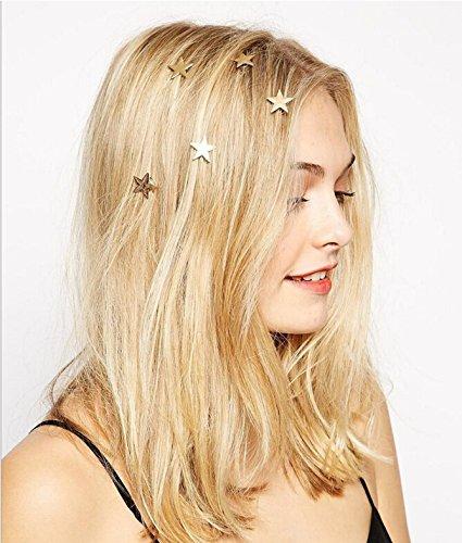 Yean Bridal Hair Clips Vingate Star Hair Pins 5 Packs - Wedding Headpieces for Women and Girls