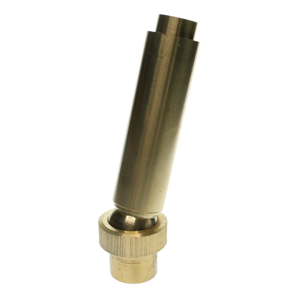 Homyl 3/4'', 1'', 1-1/2'' Adjustable Water Flow Spray Straight Jetting Fountain Nozzle Head - 1inch