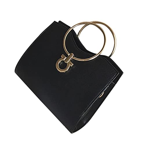 0fc4872f7ee3 Amazon.com: VIASA Women Fashion Ring Handbag Shoulder Bag Tote PU ...