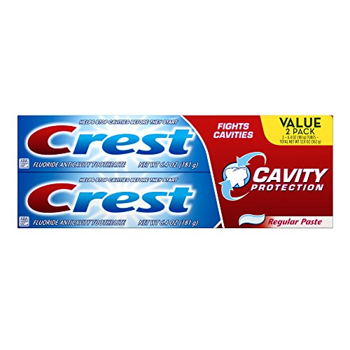 Crest Cavity Protection Toothpaste, 6.4 Ounce (Pack of 6)