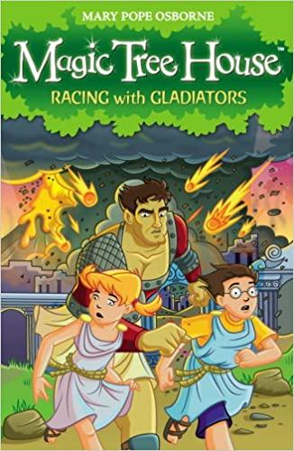Buy Magic Tree House Racing With Gladiators Book Online At