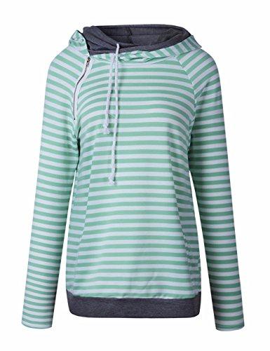 Zipper Long Sleeve Sweatshirts - 6