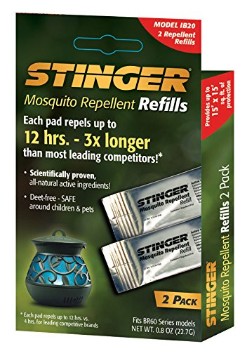 (Stinger Mosquito Repellent Refills (2) Per box (IB20))