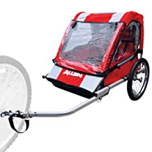 Allen AST2 Sports 2-Child Steel Bicycle Trailer (Red)
