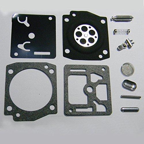 HIPA Carburetor Rebuild Kit RB-122 for Husqvarna 340 345 346 350 351 353 Chainsaw ZAMA C3-EL17 C3-EL17A C3-EL17B C3-EL18 C3-EL18A C3-EL18B - Carburetor Screen