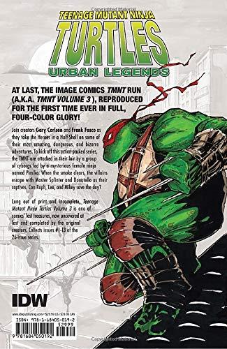 Teenage Mutant Ninja Turtles: Urban Legends Vol 01: Amazon ...