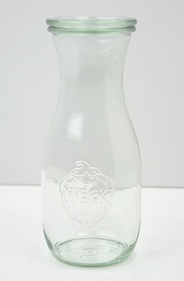 Zumo de botella de vidrio 1 caja con 6 botellas - l