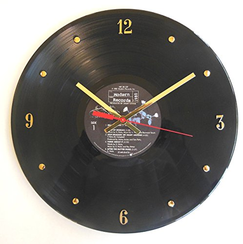 Stevie Nicks Vinyl Record Clock (Bella Donna). Handmade 12