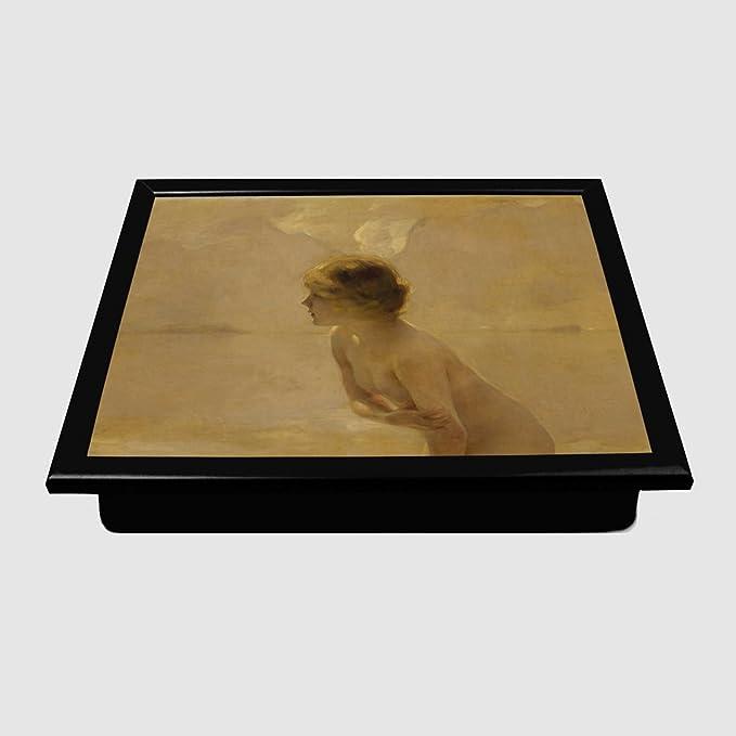 Big Box Art Arty Pie Paul emile Chabas September Morn Padded Lap Tray,  Multi-Colour